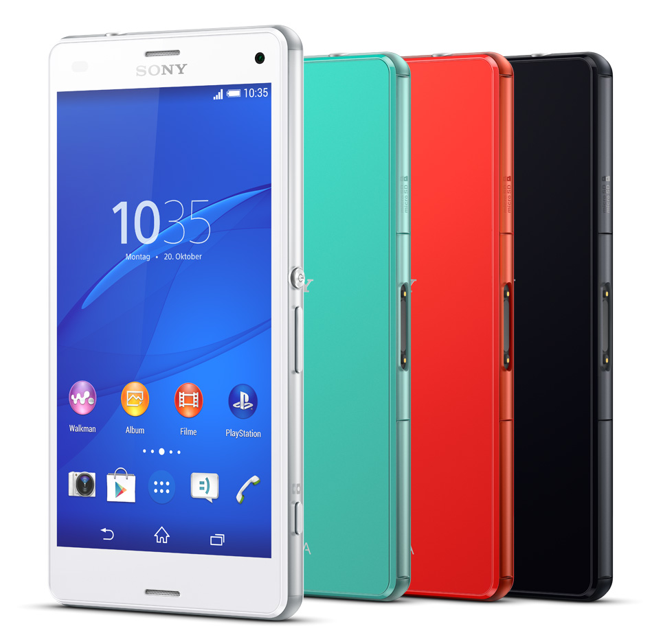 sony xperia z3 compact d5803 16gb lte android smartphone. Black Bedroom Furniture Sets. Home Design Ideas