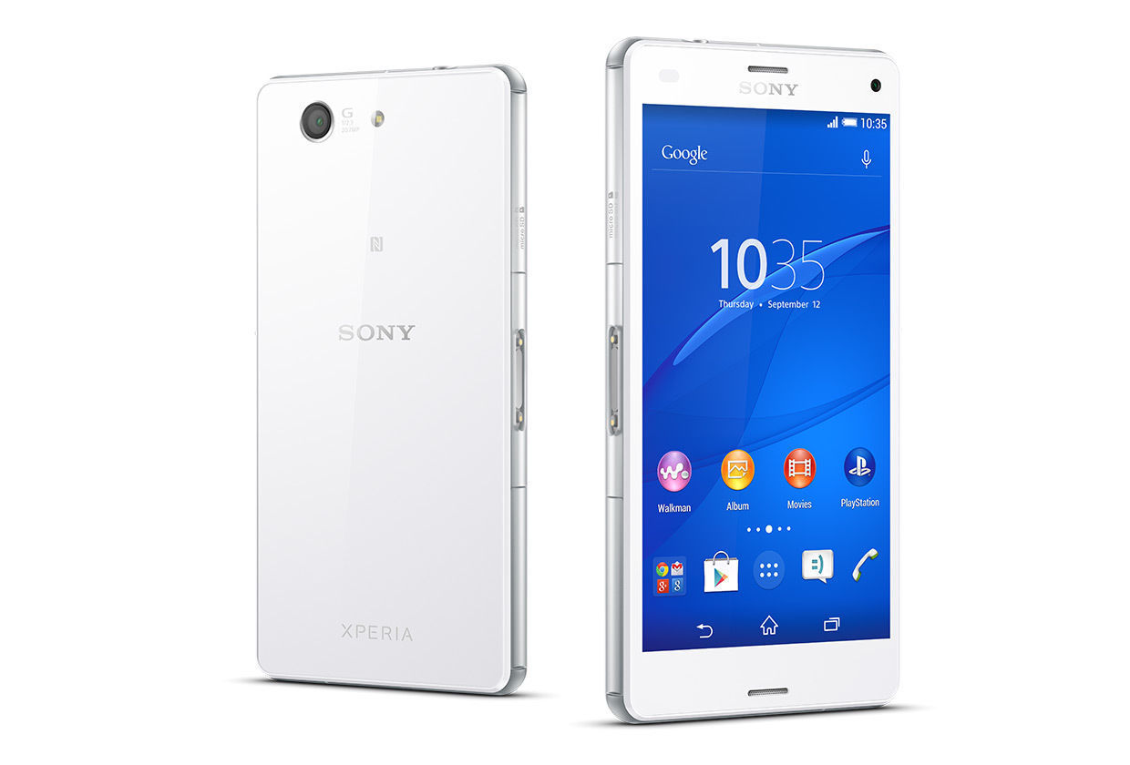 sony xperia z3 compact d5803 16gb 4g lte white wei. Black Bedroom Furniture Sets. Home Design Ideas
